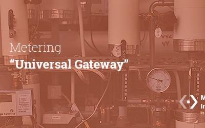 Universal Gateway para aplicaciones  de Metering