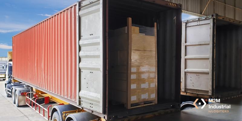 instalación exterior de carga y descarga